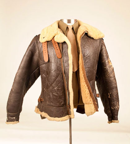 German leather flight jacket – Modern fashion jacket photo blog