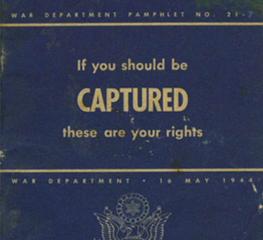 If you should be Captured...